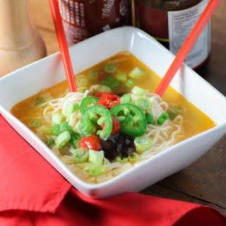Healthy Vietnamese Pho Soup.