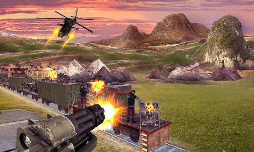 Train Shooting Sim 3D