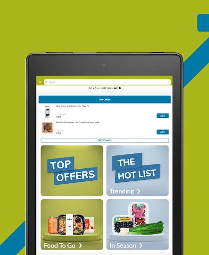 Ocado Zoom grocery delivery screenshot 9