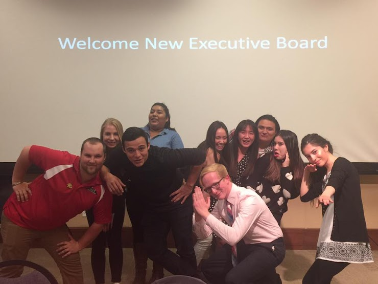 Residence Hall Association Executive Board, 2017 - 2018