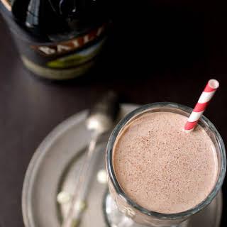 Nutella Irish Cream Milkshake.
