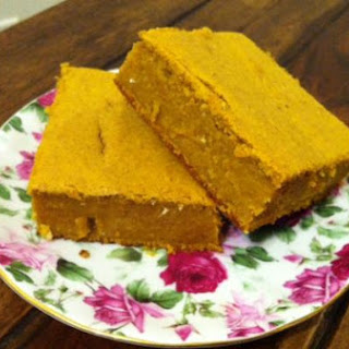Slightly Sweet Pumpkin Maple Sprouted Corn Cake