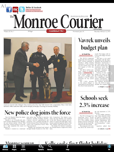 The Monroe Courier - náhled