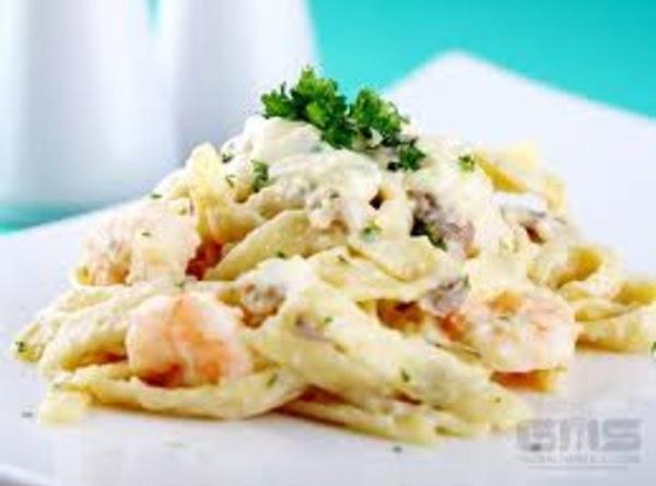 Creamed Shrimp On Rice Or Pasta Recipe