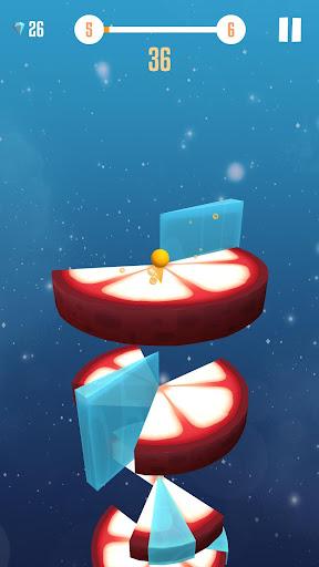 Fruit Helix Jump