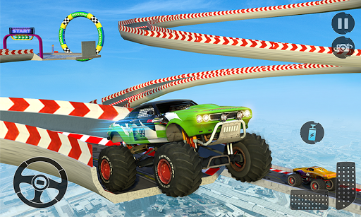 Monster Truck Mega Ramp Stunts Extreme Stunt Games screenshots 5