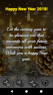 New Year Wishes & Greeting Cards - 2018 - náhled