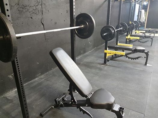 hangar gym rig set up hostyle