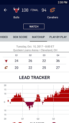 NBA - screenshot