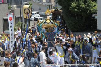 Photo: 【平成21年(2009) 本宮】  田中自治会館下。