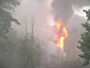 Photo: Lage vor Eintreffen der Feuerwehr