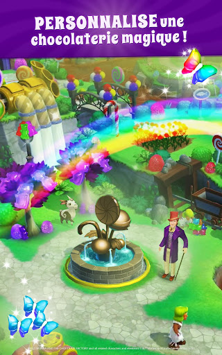 Wonka : Monde des Bonbons – Match 3  captures d'écran 1
