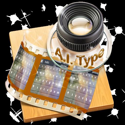雄偉壯觀的宇宙 AiType 主題 個人化 App LOGO-硬是要APP
