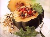 Cranberry Stuffed Acorn Squash Recipe