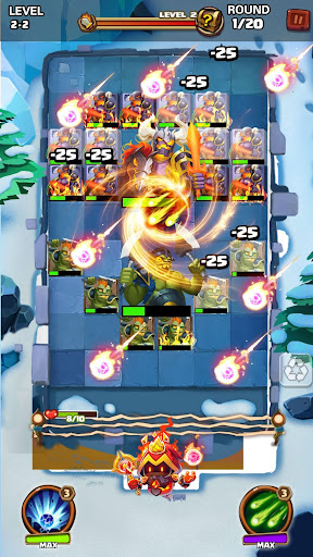 Hero War - Magic vs Monster Bounzy Brick Idle RPG apkdebit screenshots 12