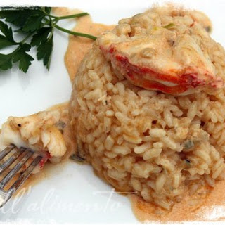 Risotto all'Aragosta {Lobster Risotto}