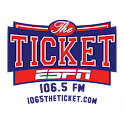 106.5 The Ticket icon