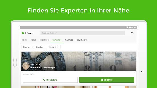 Houzz: Wohnideen, Architektur & Interior Design Screenshot