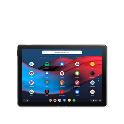 Enjoyable Google Pixel Slate Tablet With Google Assistant Google Store Download Free Architecture Designs Terchretrmadebymaigaardcom