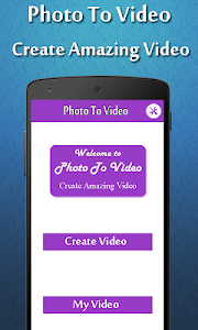 Photo To Video Maker screenshot 0