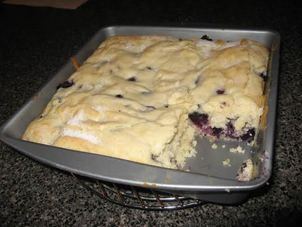 Lemon Blueberry Muffin Cake Recipe
