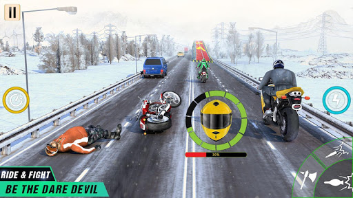 Crazy Bike Attack Racing New: Motorcycle Racing 3.0.02 screenshots 4