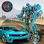 Flying Robot Car Transform – Transforming Games icon