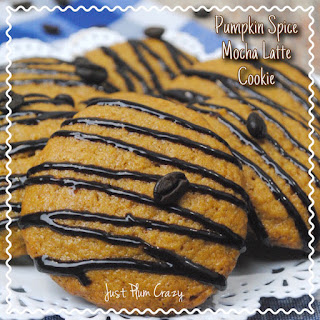 Pumpkin Spice Mocha Latte Cookie Recipe #CraftEachDay #TastersChoiceChallenge @NescafeUSA #ad