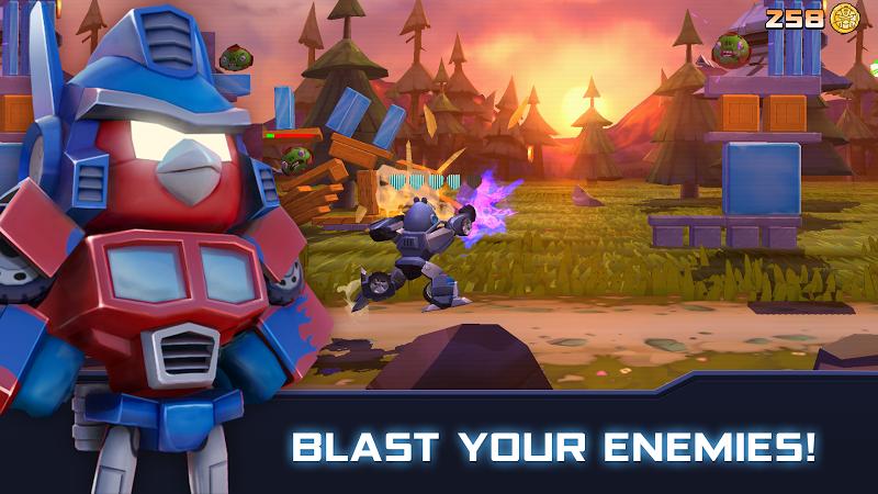 Angry Birds Transformers Screenshot 6