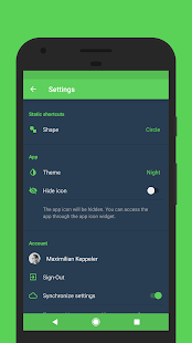 Sign for Spotify - Spotify Widgets and Shortcuts Screenshot