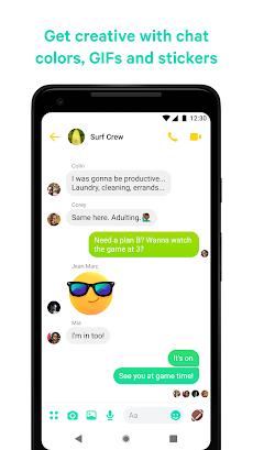 Messenger – 無料のSMSとビデオ通話のおすすめ画像5