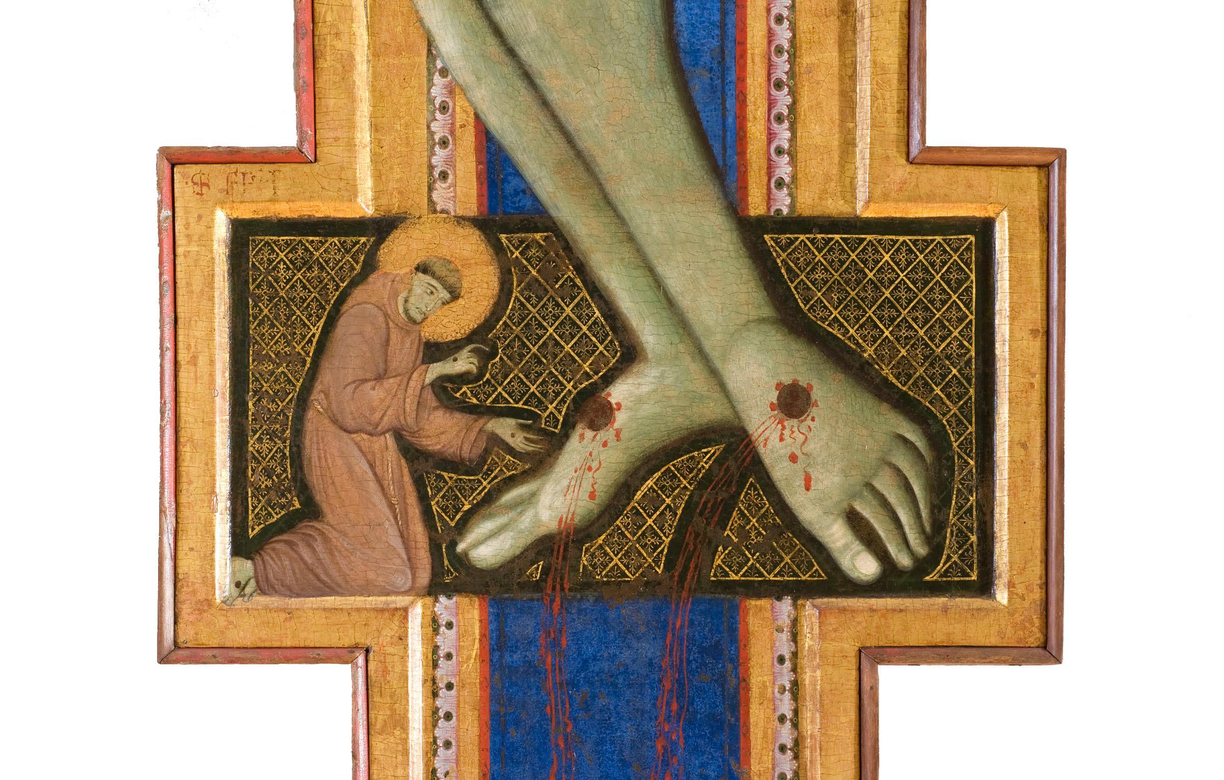 Crocifisso, Maestro di San Francesco, 1272, Galleria nazionale dell'Umbria, Perugia
