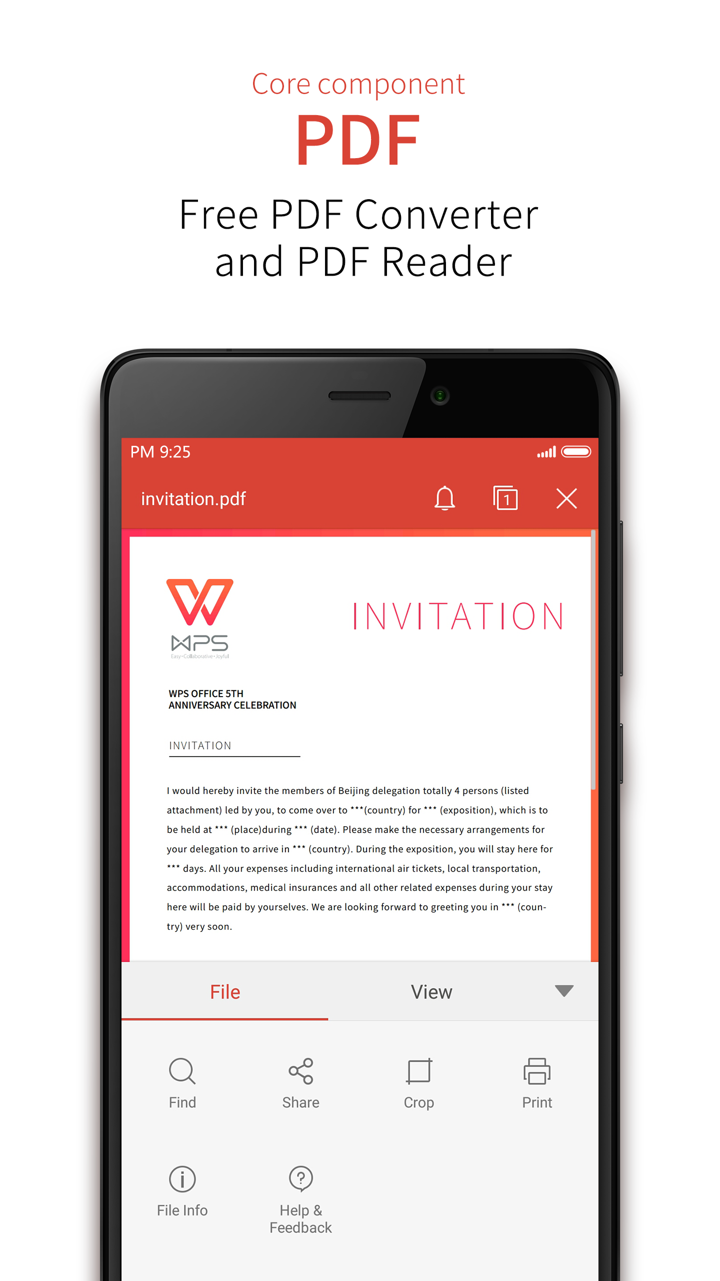 WPS Office + PDF screenshot #4