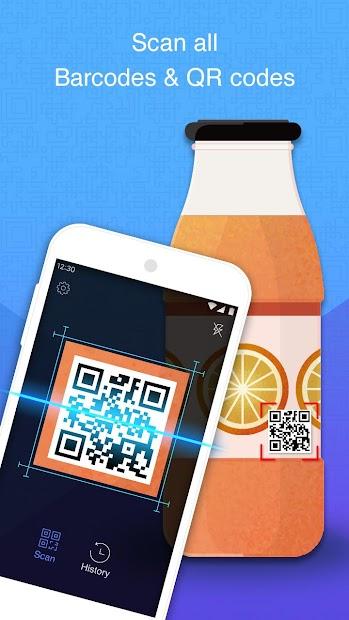 Smart Scan - QR & Barcode Scanner Free Android App Screenshot