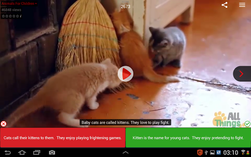 Voscreen - Learn English with Videos 1.2.5 screenshots 10