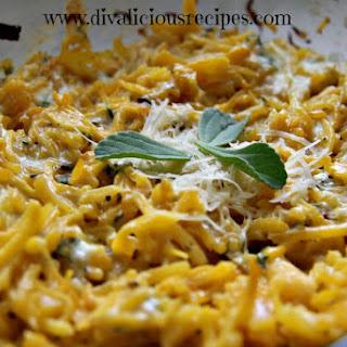 Parmesan & Sage Baked Butternut Squash Noodles