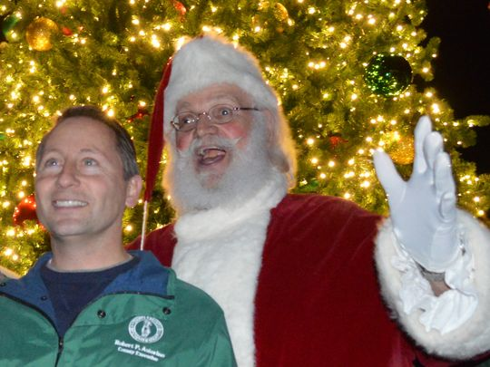 Westchester County Executive Rob Astorino, as the Winter
