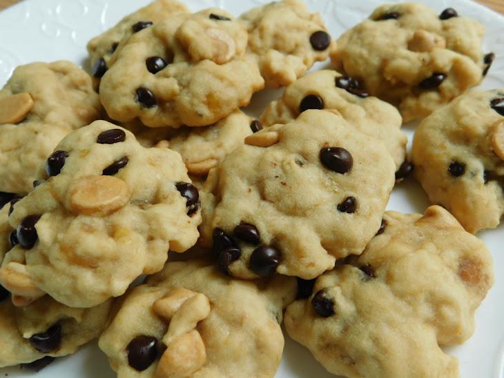 Chocolate Peanut Butter Chip Banana Cookies Recipe