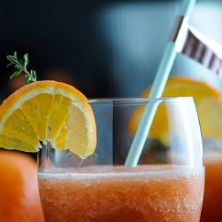 Grilled Tangerine Frozen Negroni – A Negroni Week Cocktail.