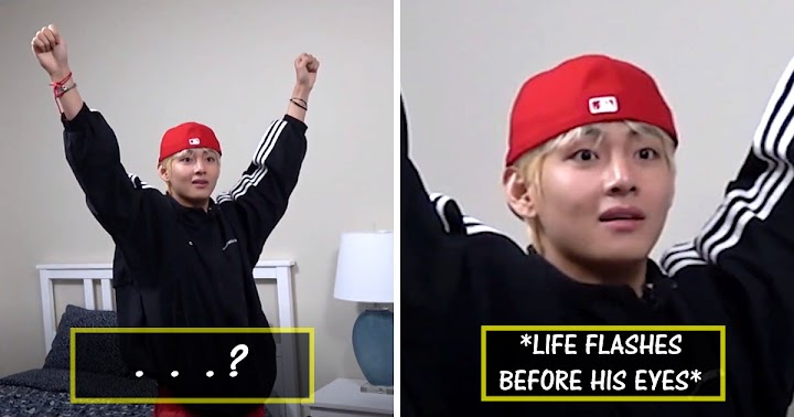 V Got Pranked By BTS's Vocal Line And His Reaction Has Us