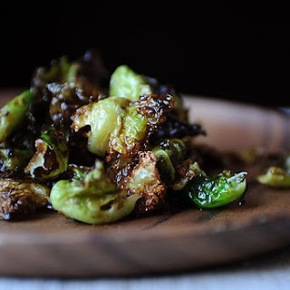 Crispy Fried Brussels Sprouts with Honey and Sriracha Recipe