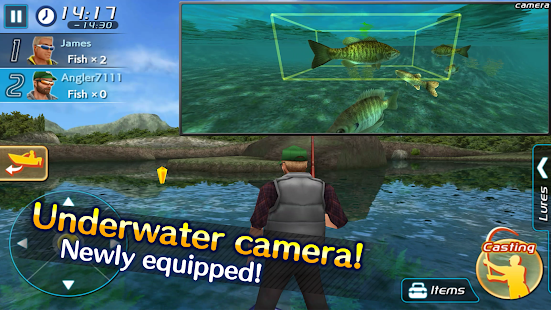 Bass Fishing 3D II- screenshot thumbnail