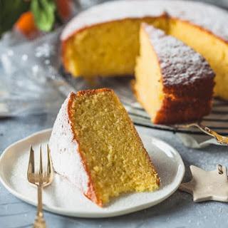 Olive Oil Orange Cake {Dairy-Free}.