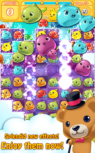 Jelly Jelly Crush - In the sky screenshots 17