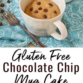 Gluten Free Chocolate Chip Mug Cake (Vegan) Recipe