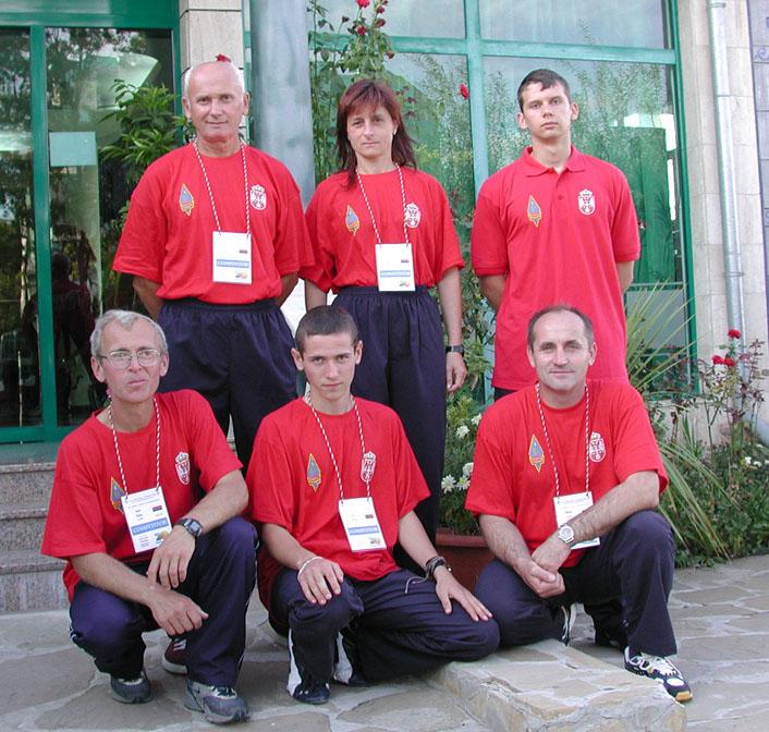 Photo: WORLD ARDF PRIMORSKO BUG 2006. - ekipa SRBIJE