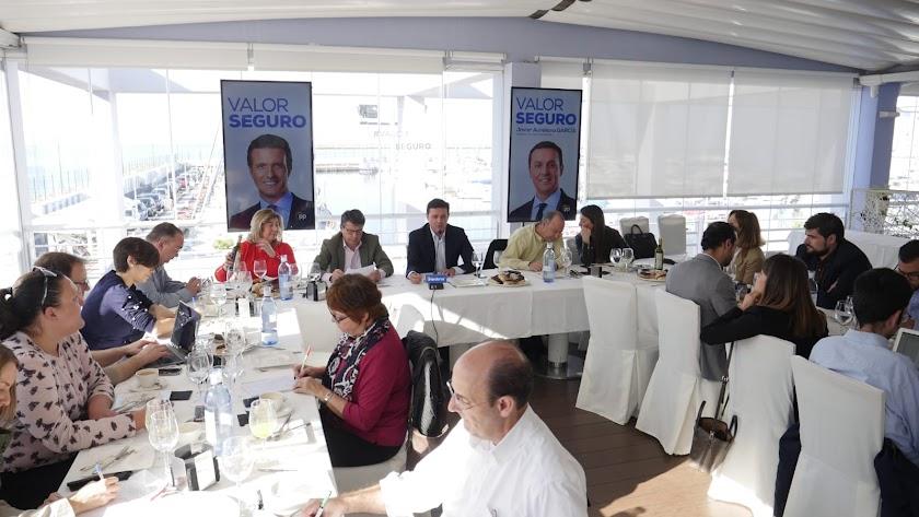 Desayuno informativo del Partido Popular