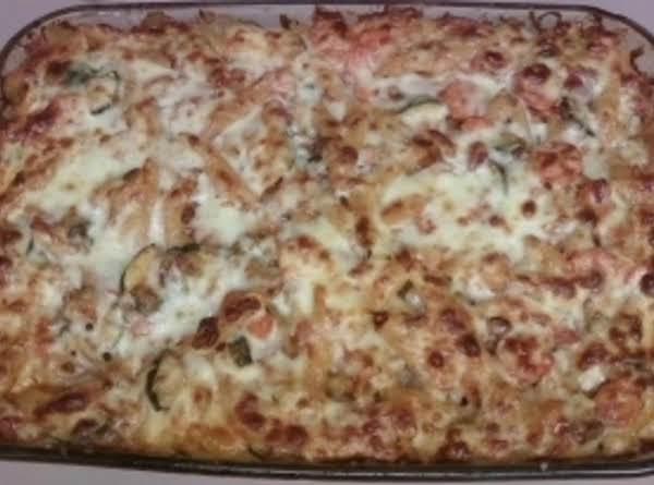 Veggie Medley Ziti Recipe