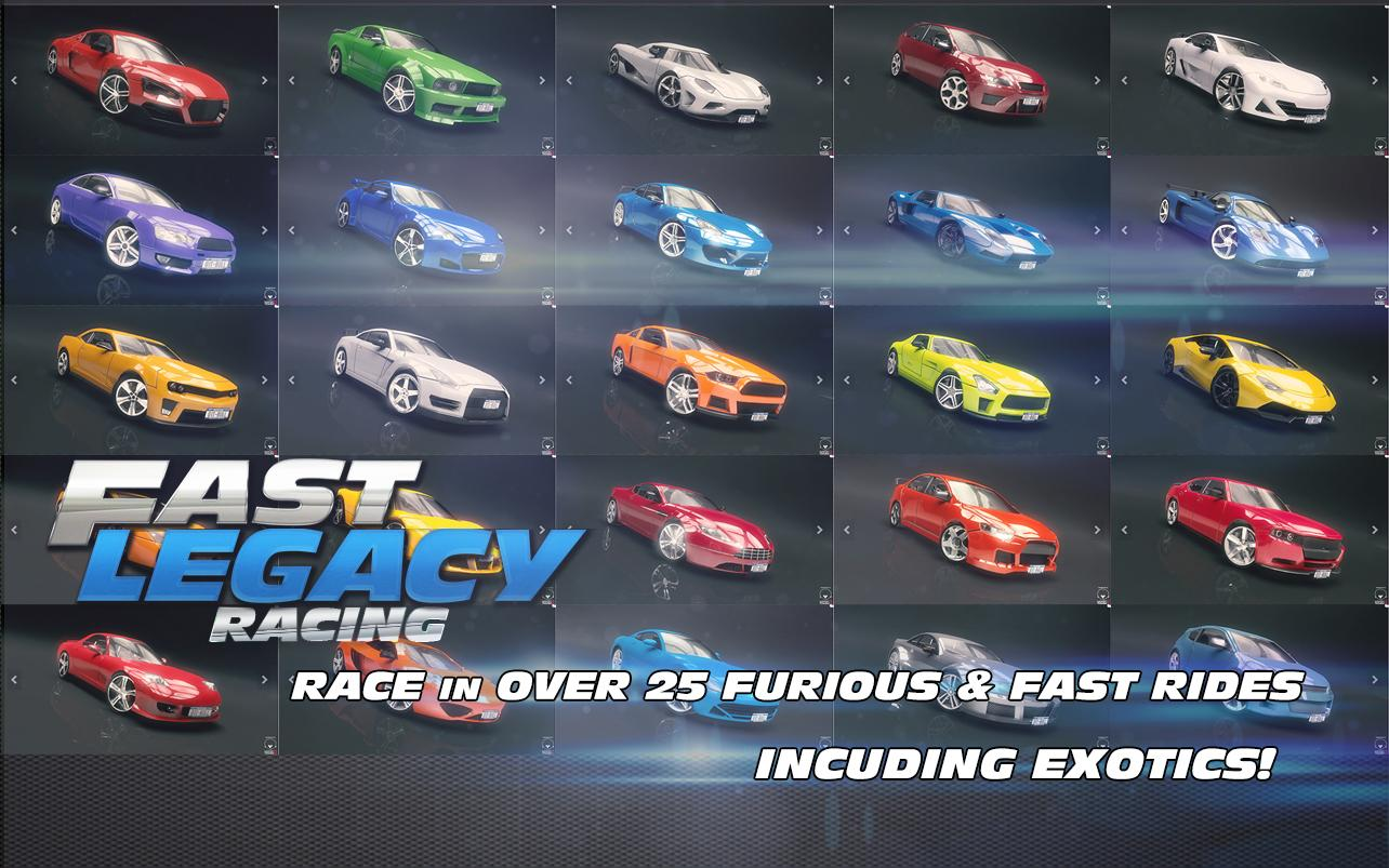 Fast Legacy Racing Android Apps On Google Play - Fast 4 car list