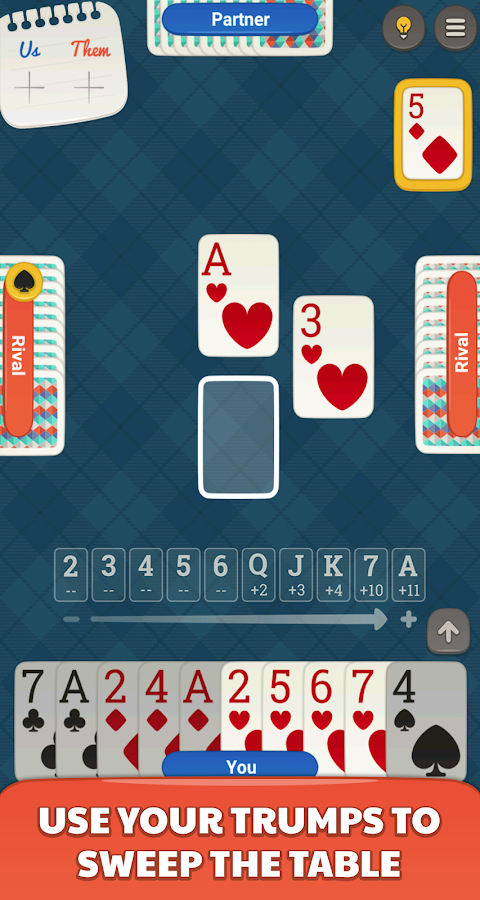 Sueca Jogatina: Free Card Game- screenshot
